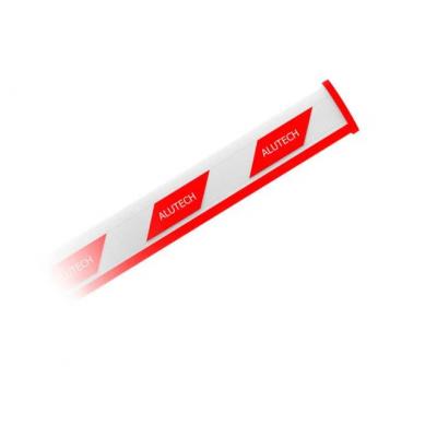 Стрела для шлагбаума Alutech RBN8-5, прямоугольная, 5,3 м - Фото 1