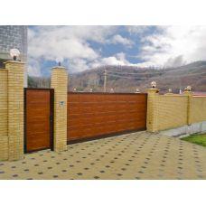 Алюминиевые откатные ворота ADS-400