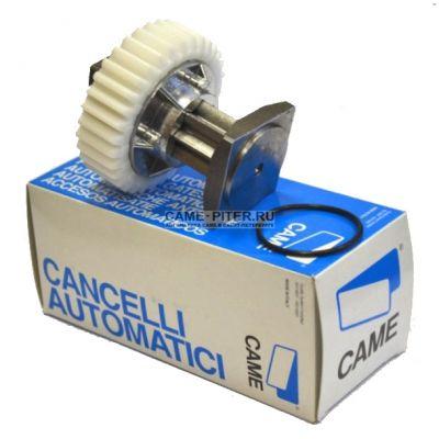 Вал деблокиратора (в сборе) для шлагбаумов CAME серии Gard: G2500 G3250 G3750 G4000 G4040 G6000 G6500 G12000 CAME 119RIG051 - Фото 1