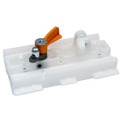 Каретка направляющей V0679-V0682-V0683 (каретка/скользящий блок/тележка)  для приводов секционных гаражных ворот серии VER CAME 119RIE147 - Фото 1