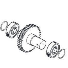 Основной выходной вал (металлическая шестерня) редуктора шлагбаума CAME серии Gard G3250 / G3750 CAME 119RIG331