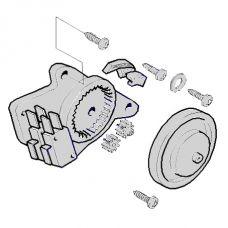 Привод концевых выключателей CAT-Х в сборе CAME 119RIX014