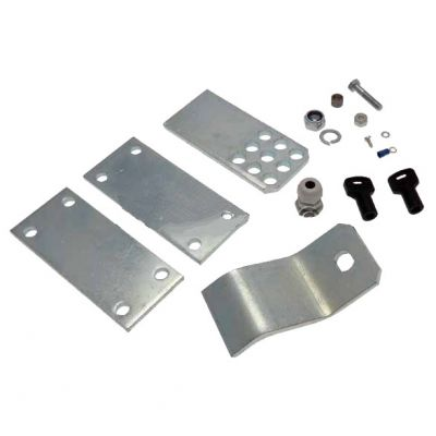 Монтажный комплект (монтажные пластины) для распашных приводов серии Krono 300/310 CAME 119RID163 - Фото 1