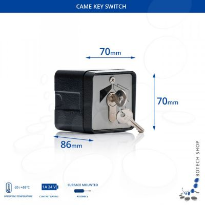 Ключ-выключатель Came SET-E - Фото 1