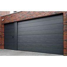 Ворота Doorhan - черные ворота в гараж