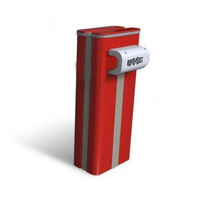 Тумба для шлагбаума FAAC B680H красного цвета RAL 3020  - Фото 1