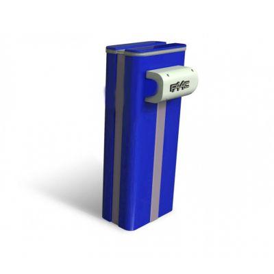 Тумба для шлагбаума FAAC B680H синего цвета RAL 5011 - Фото 1