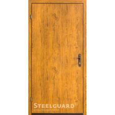 Двери Steelguard 163-2 golden oak