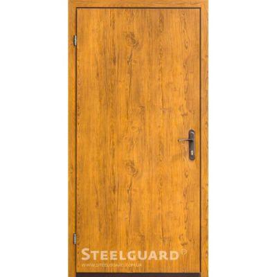 Двери Steelguard 163-2 golden oak