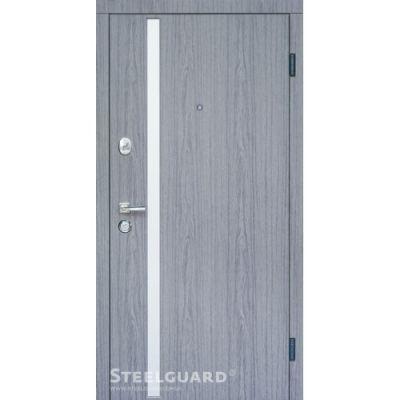Двери Steelguard AV-1 Grey - Фото 1