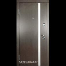 Двери Steelguard AV-1 Венге тем./бел.