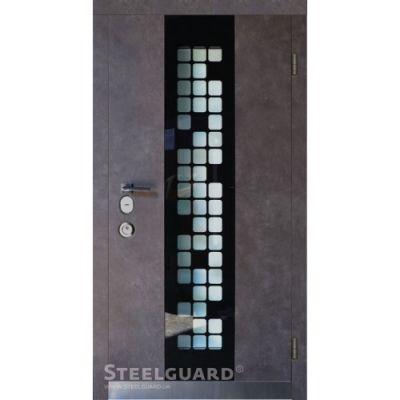 Двери Steelguard Manhattan Grey - Фото 1
