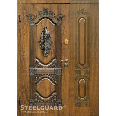 Двери Steelguard Sangria big glass - Фото 1