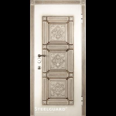 Двери Steelguard SG-12 White - Фото 1