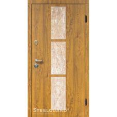 Двери Steelguard Stone-V golden oak