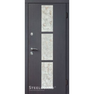 Двери Steelguard Stone-V wenge - Фото 1