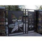 Откатные ворота плазменная резка - любое изображение.