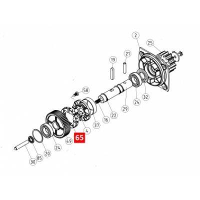 Диск сцепления редуктора RB600 (PPD0969.4540) - Фото 1