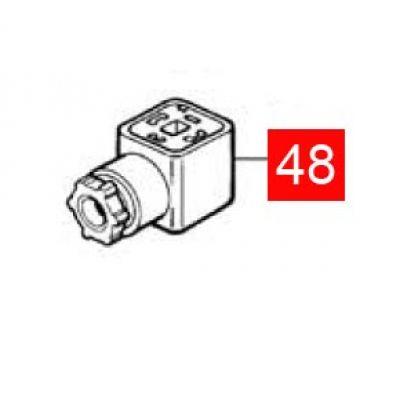 Разъем (розетка) MB/PL (C4VFMPM/A.2065) - Фото 1