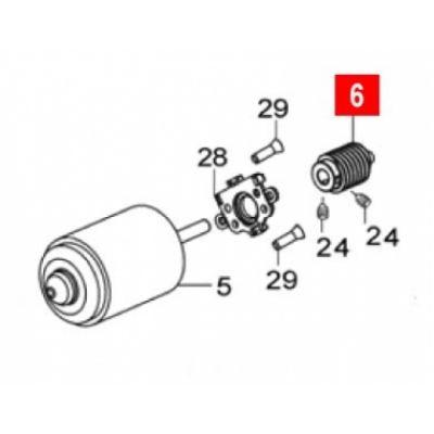 Червяк двигателя WG10 - Фото 1