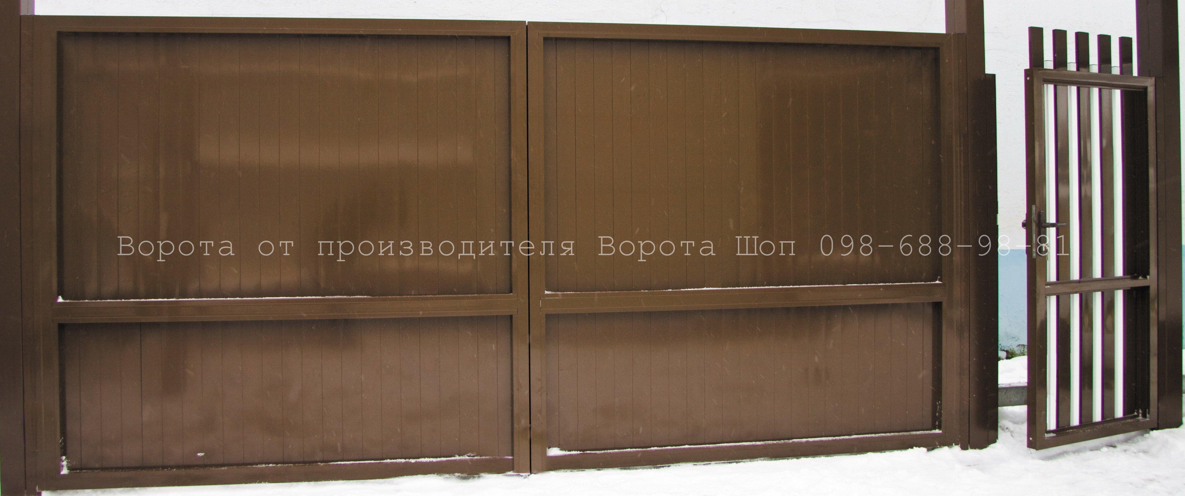 Распашные ворота адс400 цена в Киеве