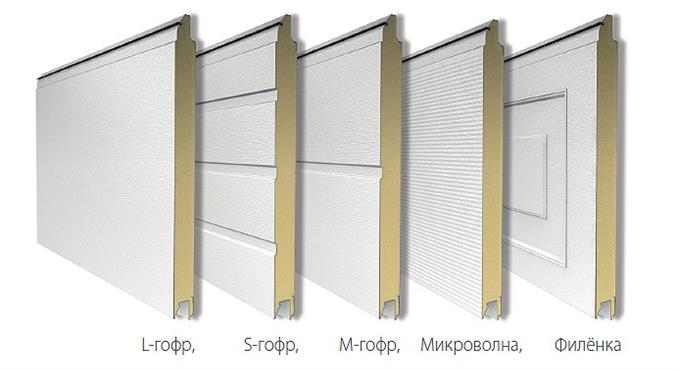 Дизайн панелей на выбор