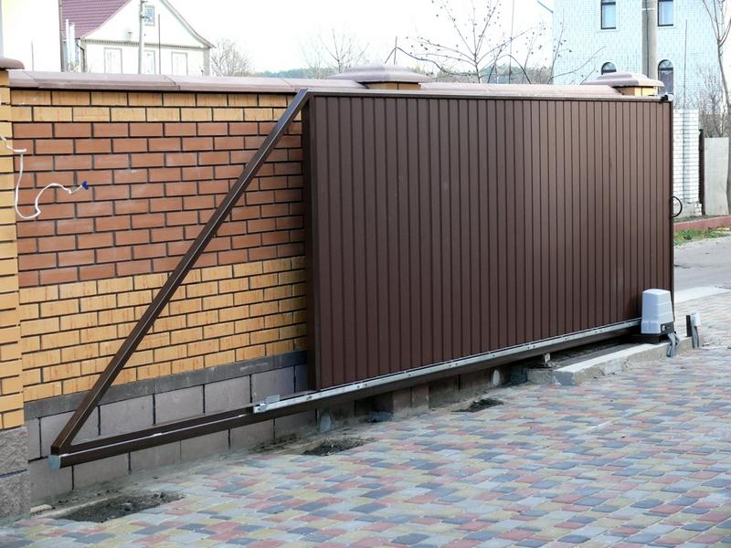 заборы и раздвижные уличные ворота