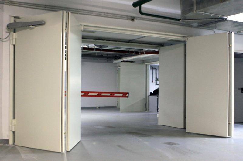 двери металлические противопожарные для производственных зданий